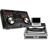 Denon MC6000 MK2 Digital Mixer & Controller With Magma Glide Style Case